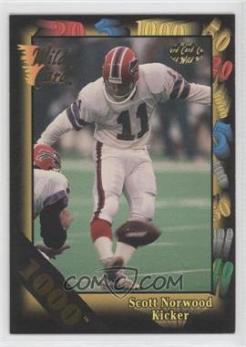 1992 Wild Card Super Bowl Card Show III 1000 Stripe #126 I - Scott Norwood