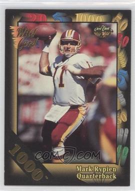 1992 Wild Card Super Bowl Card Show III 1000 Stripe #126 - Mark Rypien