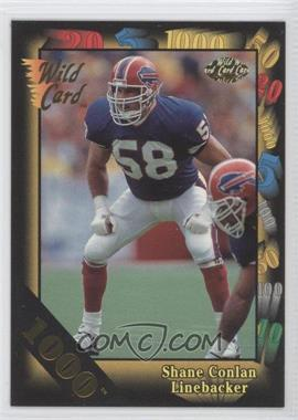 1992 Wild Card Super Bowl Card Show III 1000 Stripe #126 - Shane Conlan