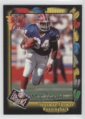 1992 Wild Card Super Bowl Card Show III #126 F - Thurman Thomas