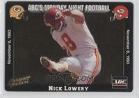 Nick Lowery
