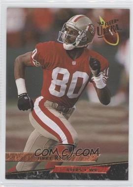 1993 Fleer Ultra #437 - Jerry Rice