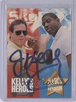 Jim Kelly, Magic Johnson (Jim Kelly Autograph)