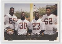 Arizona Cardinals Team, Ernest Dye, Ronald Moore, Garrison Hearst, Ben Coleman