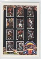 Steve Young, Tim Harris, Emmitt Smith, Sterling Sharpe, Henry Jones, Warren Moo…