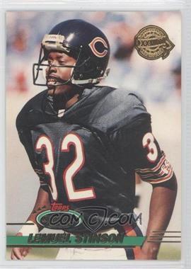 1993 Topps Stadium Club - Super Teams Redeemed - Super Bowl XXVIII #367 - Lemuel Stinson