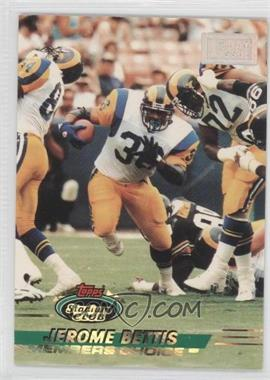 1993 Topps Stadium Club 1st Day Production #506 - Jerome Bettis