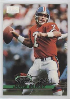 1993 Topps Stadium Club 1st Day Production #70 - John Elway