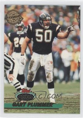 1993 Topps Stadium Club Super Teams Redeemed Super Bowl XXVIII #14 - Gary Plummer