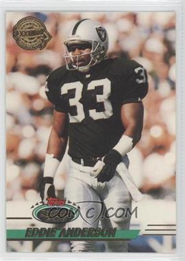 1993 Topps Stadium Club Super Teams Redeemed Super Bowl XXVIII #424 - Eddie Anderson