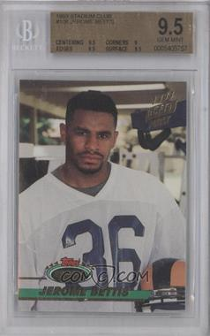 1993 Topps Stadium Club #108 - Jerome Bettis [BGS 9.5]
