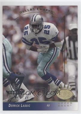 1993 Upper Deck SP #68 - Derrick Lassic