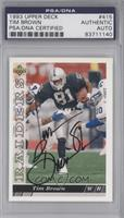 Tim Brown [PSA/DNA Certified Auto]