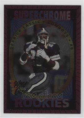 1993 Wild Card Superchrome Rookies #18 - Derrick Lassic