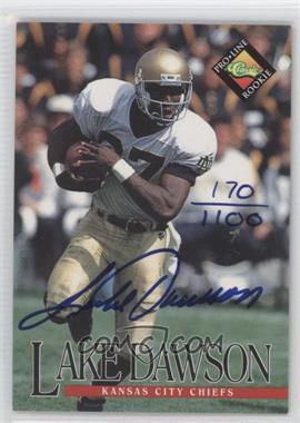 1994 Classic Pro Line Live Autographs #N/A - Lake Dawson /1100