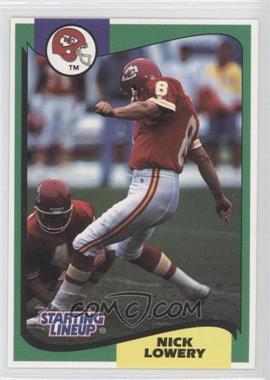 1994 Kenner Starting Lineup [???] #8 - Nick Lowery