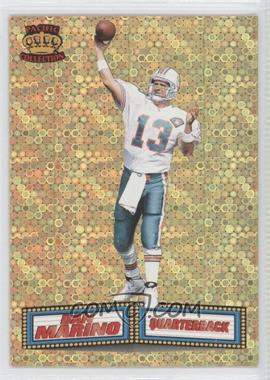 1994 Pacific Crown Collection - Marquee Prisms - Gold #17 - Dan Marino