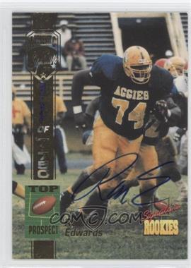 1994 Signature Rookies [???] #N/A - Ronald Edwards /7750