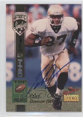 1994 Signature Rookies Authentic Signature #15 - Lake Dawson /7750