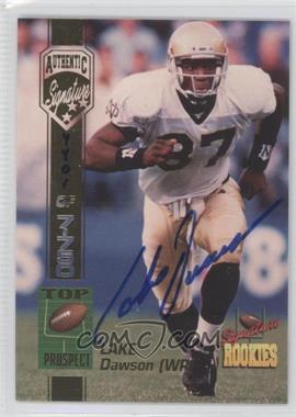 1994 Signature Rookies Authentic Signature #15 - [Missing] /7750