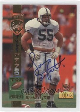 1994 Signature Rookies Authentic Signature #6 - Lou Benfatti /7750