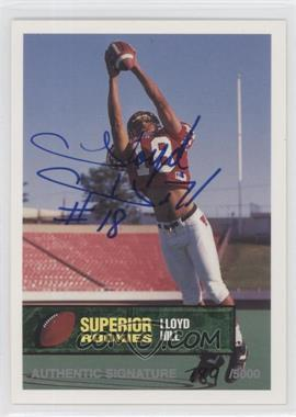 1994 Superior Rookies Autographs #42 - LLoyd Hill /6000