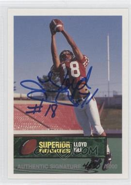1994 Superior Rookies Autographs #42 - LLoyd Hill /6000