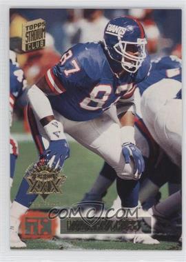 1994 Topps Stadium Club - [Base] - Super Teams Winners Super Bowl XXIX #156 - Howard Cross