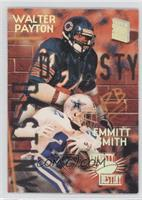 Emmitt Smith, Walter Payton
