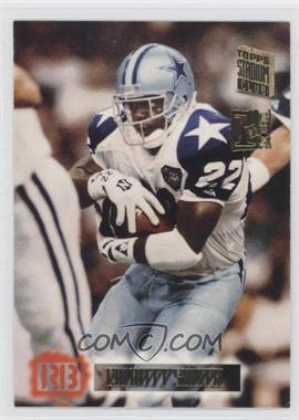 1994 Topps Stadium Club 1st Day Issue #630 - Emmitt Smith