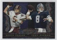 Heath Shuler, Troy Aikman
