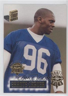 1994 Topps Stadium Club Super Teams Winners Super Bowl XXIX #28 - Shante Carver