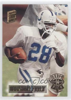 1994 Topps Stadium Club #327 - Marshall Faulk