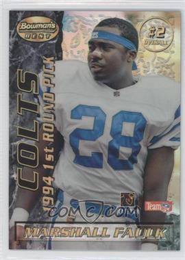 1995 Bowman's Best [???] #2 - Marshall Faulk