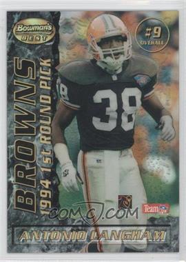 1995 Bowman's Best [???] #9 - Antonio Langham, Kyle Brady