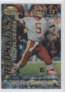 1995 Bowman's Best Mirror Image Draft Picks Refractor #3 - Heath Shuler, Steve McNair