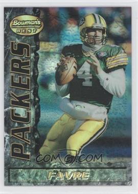 1995 Bowman's Best Refractor #43 - Brett Favre