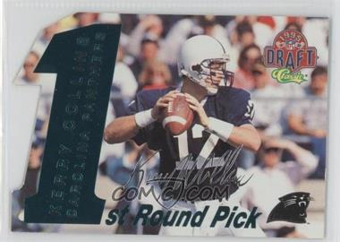 1995 Classic NFL Draft 1st Round Picks Silver Signatures #5 - Kerry Collins /1750