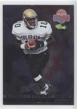 1995 Classic NFL Draft Instant Energy #IE 18 - Kordell Stewart