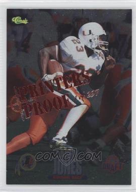 1995 Classic NFL Draft Silver Printers Proof #56 - Larry Jones