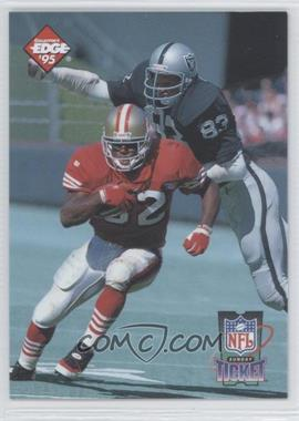 1995 Collector's Edge [???] #3 - Ricky Watters, Ted Hendricks /10000