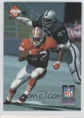 1995 Collector's Edge [???] #3 - Ricky Watters, Ted Hendricks /2500