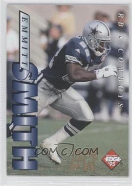 1995 Collector's Edge 22K Gold Non-Numbered #56 - Emmitt Smith
