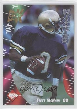 1995 Collector's Edge Rookies 22K Gold #6 - Steve McNair
