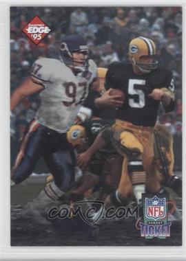 1995 Collector's Edge Sunday Ticket Time Warp #1 - Chris Zorich, Paul Hornung /10000