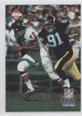1995 Collector's Edge Sunday Ticket Time Warp #2 - Gale Sayers, Ken Grandberry /10000