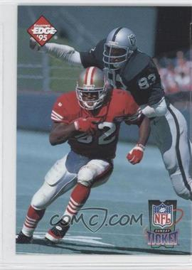 1995 Collector's Edge Sunday Ticket Time Warp #3 - Ricky Watters, Ted Hendricks /10000