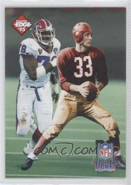1995 Collector's Edge Sunday Ticket Time Warp #4 - Bruce Smith, Sammy Baugh /10000