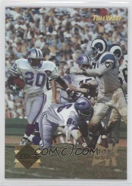 1995 Collector's Edge Time Warp 22K Gold #5 - Barry Sanders, Deacon Jones