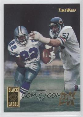 1995 Collector's Edge Time Warp Black Label 22K Gold #1 - Dick Butkus, Emmitt Smith